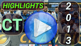 Icc champions trophy 2013 match highlights videos
