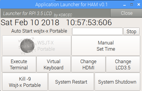 How to use Wsjtx-Portable (Wsjtx 1 8 1 based Small LCD version)