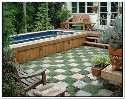 Swimming Pool That Turns Into A Patio More Easy