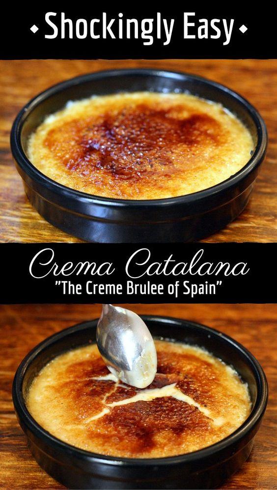 Homemade Spanísh Crema Catalana Recípe