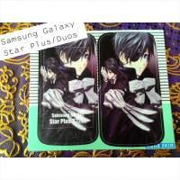 Contoh Skin Handphone Samsung Galaxy Star Plus / Duos