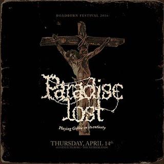 """Ο δίσκος των Paradise Lost """"Gothic Live At Roadburn 2016"""""""