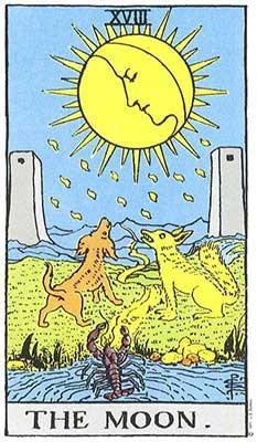 Mother-Tarot-Rider-Waite-The-Moon