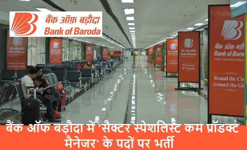 Bank of Baroda jobs 2019