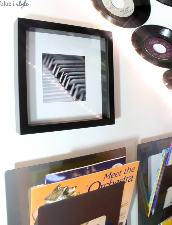 Music photography in under stair playroom