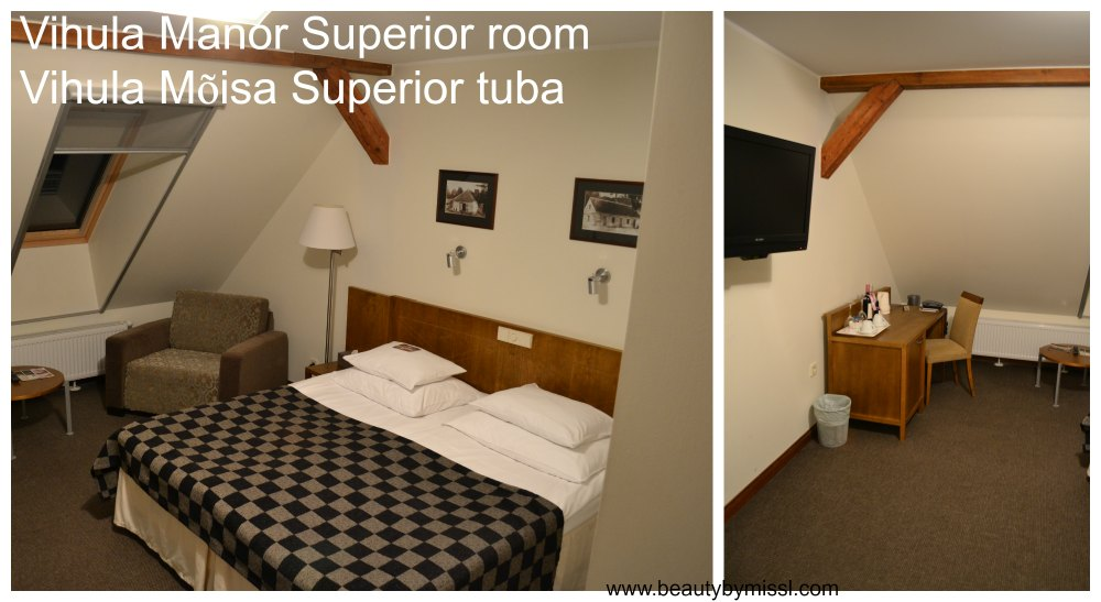 Vihula Manor Superior room