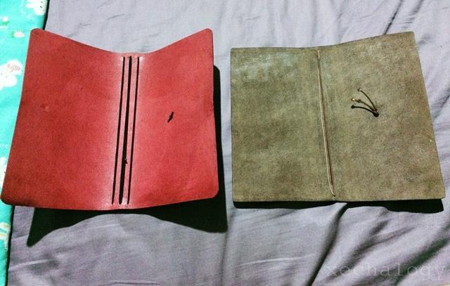 the foxyfix leather journal