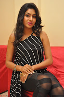 Akshida in Black Tank Top at Kalamandir Foundation 7th anniversary Celebrations ~  Actress Galleries 086.JPG