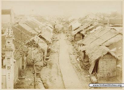 """Bộ ảnh """"Bắc Kỳ năm 1884-1885"""" của Bác sĩ Hocquard - Phần 1"""