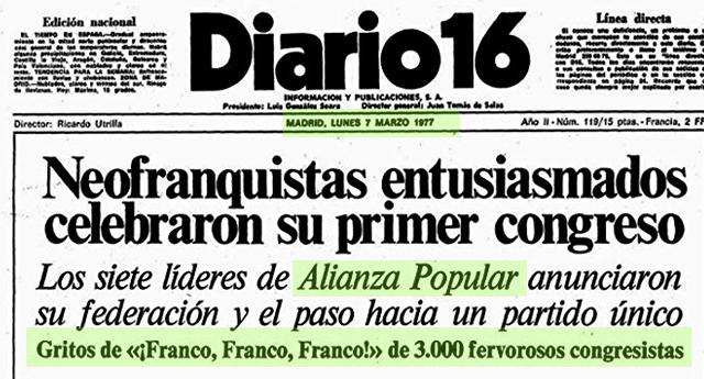 ¡Franco, Franco, Franco!