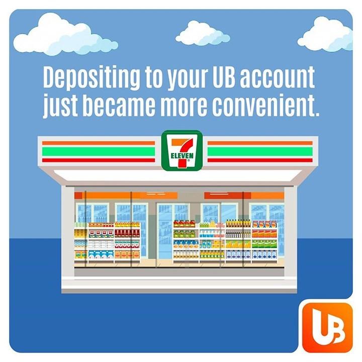 UnionBank 7-Eleven cash deposit