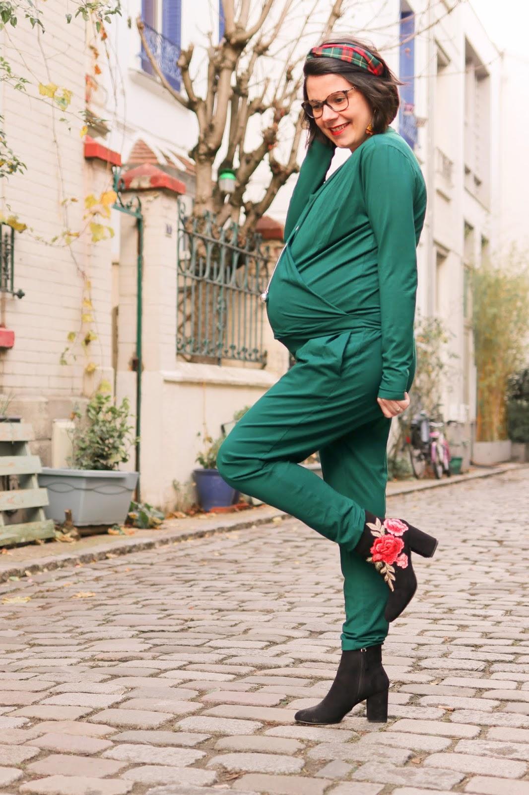 vêtement de grossesse enceinte madeleine et marie collection capsule camaieu combinaison pantalon petite avis comment les gommettes de melo philomene and co serre tête bola ilado paris