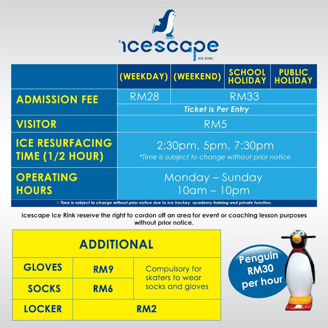 Icescape Ice Rink ioi city mall