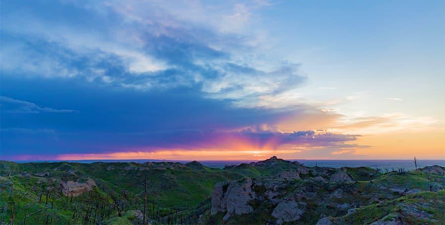Chadron State Park Sunset