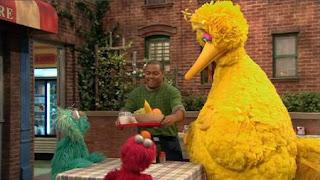 Big Bird, Elmo, Rosita, Chris, Sesame Street Episode 4323 Max the Magician season 43