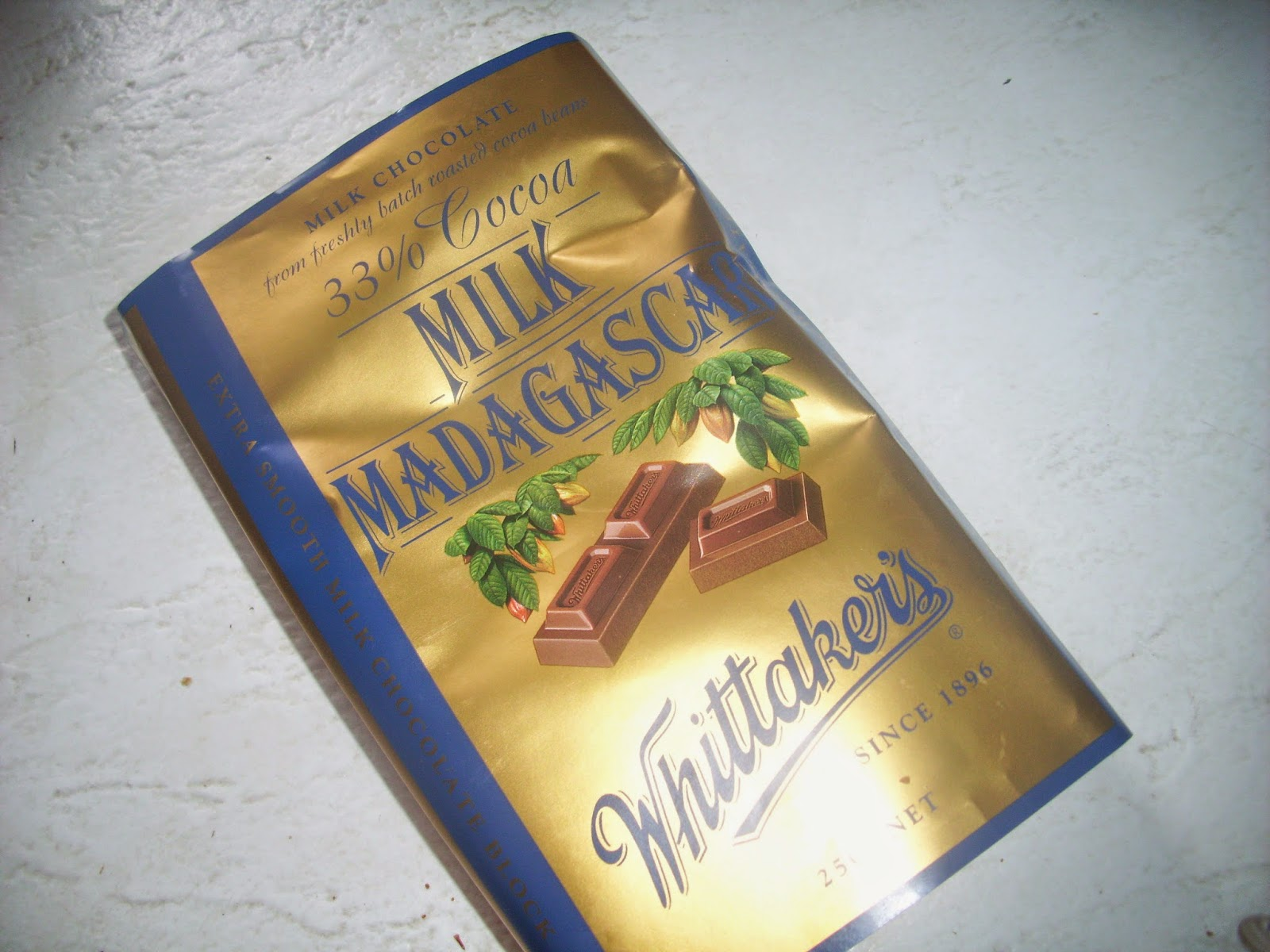 The divine milk Madagascar from Whittaker's.