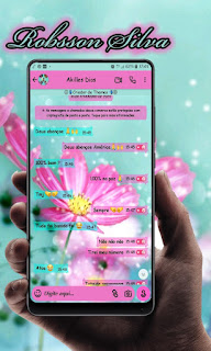 Flowers Theme For YOWhatsApp & Fouad WhatsApp By Robsson