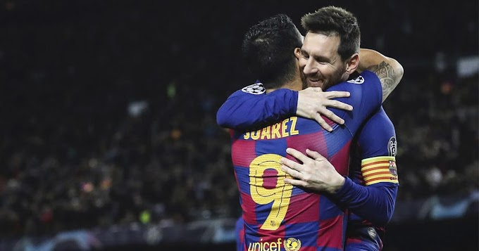 Barcelona duo Suarez-Messi partnership tops the list of most prolific pairings across Europe league