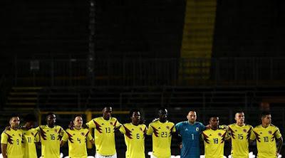 Dorsales seleccion colombia copa américa brasil 2019