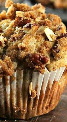 Banana Pecan banana pecan crunch muffins Crunch Muffins