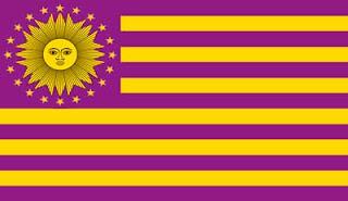 Bandera de los Estados Unidos de Perú Bolivianos