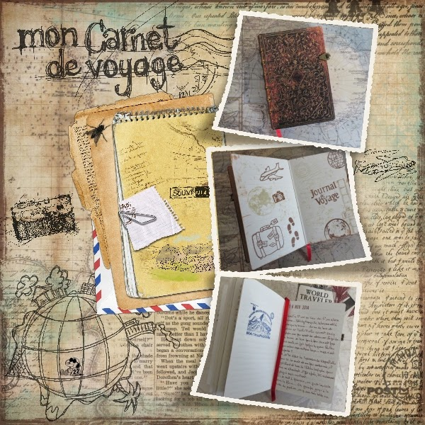 snoopyscrap 22 mon carnet de voyage. Black Bedroom Furniture Sets. Home Design Ideas