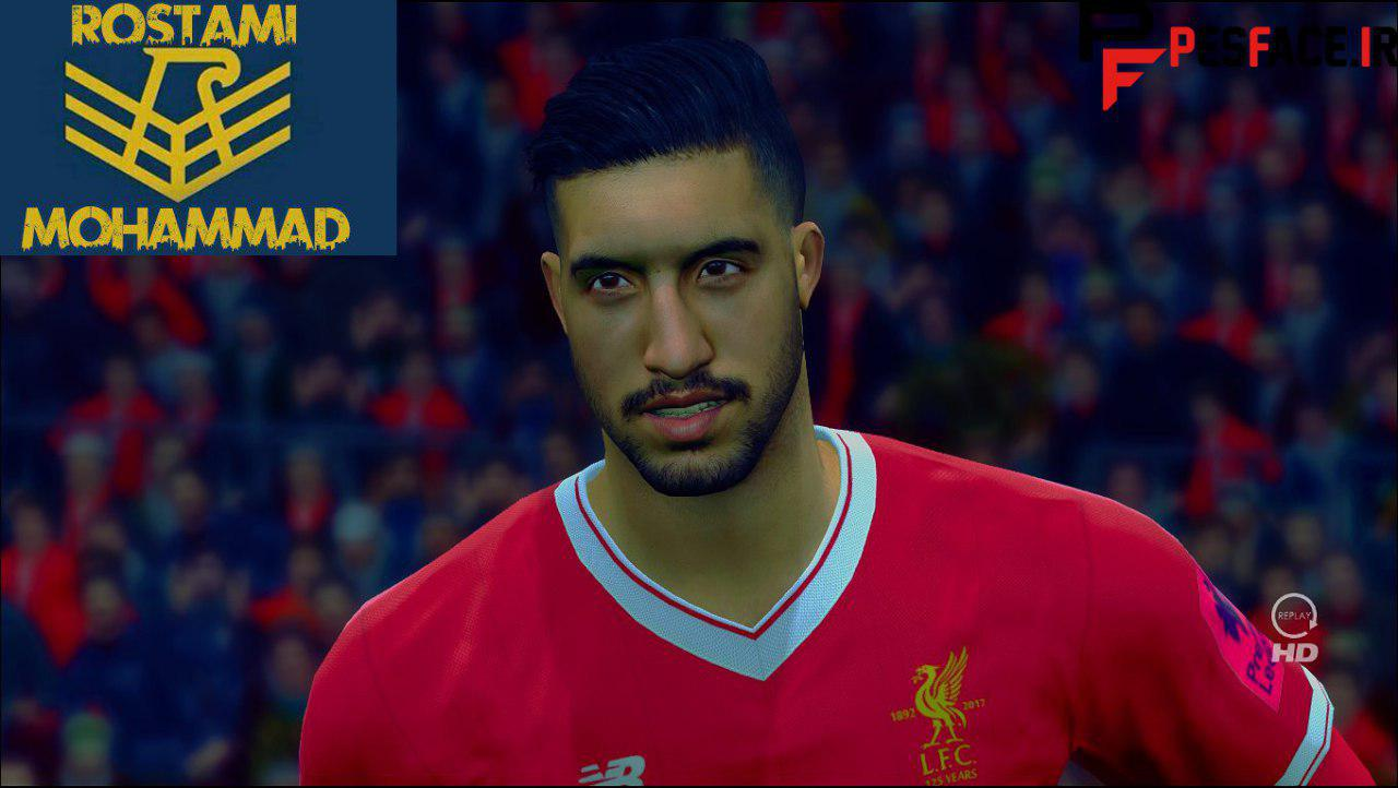 PES 2017 Emre Can New Face And Hair By Mohammad Rostami