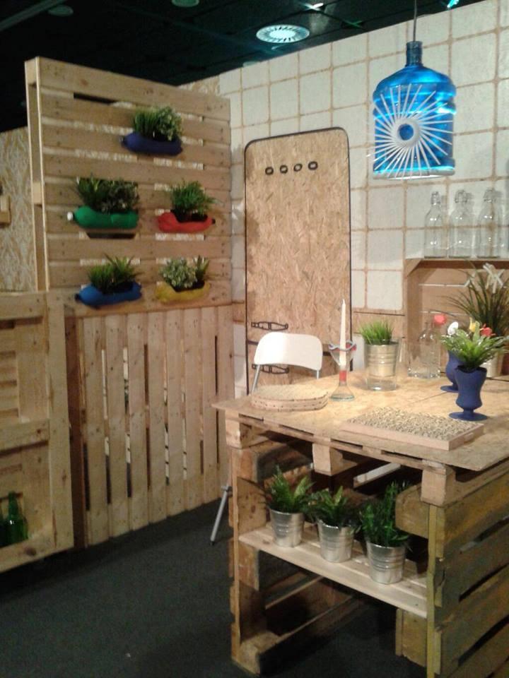 Ideas geniales para reutilizar palets de madera for Madera para palets