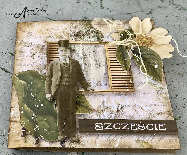 papier do scrapbookingu Wild Garden