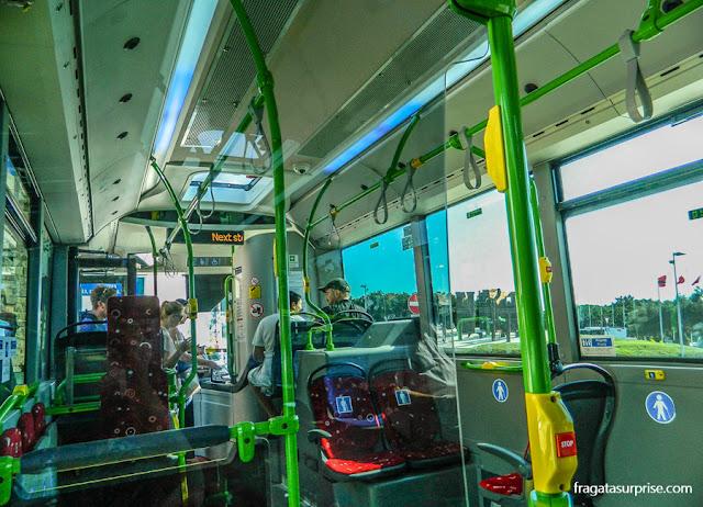 ônibus do aeroporto de Malta para Sliema