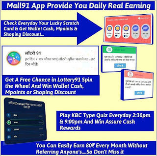 How To Earn Money with Mall91