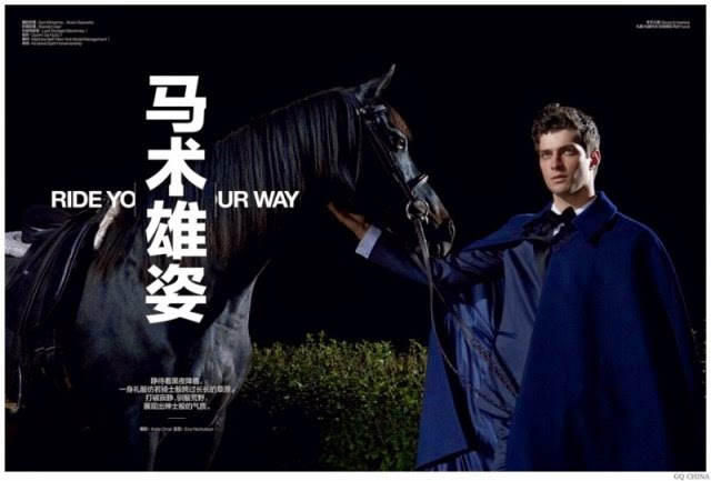 matthew bell, gq china, editorial de moda, fashion, models