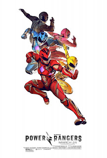 Power Rangers (2017) Movie Banner Poster 28