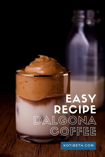 How to make Dalgona coffee recipe easy with or without instant coffee. This Tiktok drink is so easy to make with this tutorial.  I made mine French Vanilla, but you can change the flavor for your home made recipes.  This easy Dalgona coffee recipe has just 5 ingredients for a homemade drink. #dalgona #coffee #dalgonacoffee #vanilla #recipe