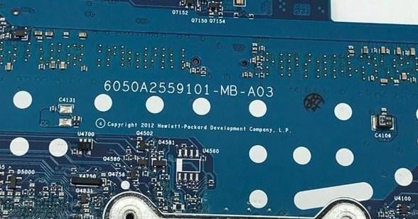 6050A2559101-MB-A03 HP ZBOOK 14 Bios