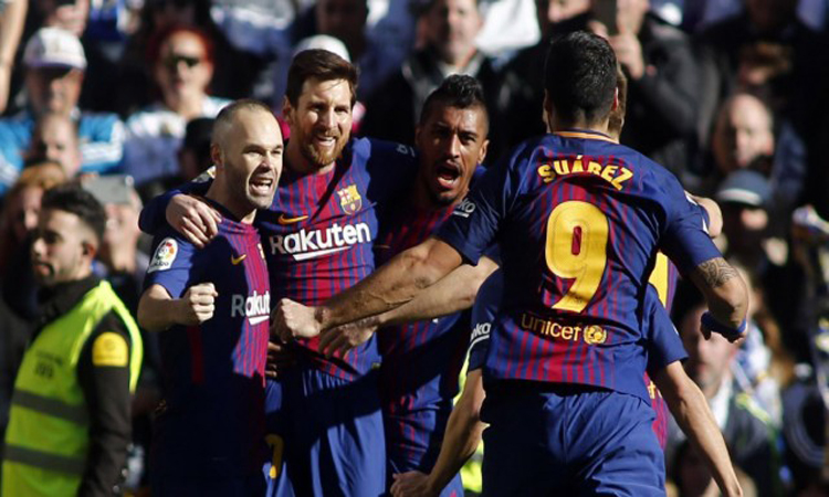 Video Cuplikan Gol Real Madrid vs Barcelona 0-3