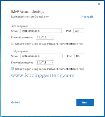 Tutorial Cara Setting Gmail di Microsoft Outlook 2016