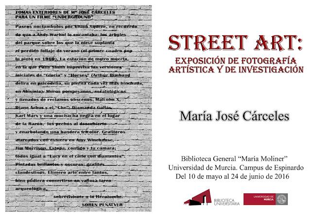 """""""Street Art: not anything goes"""". Exposición de fotografía artística y de investigación."""