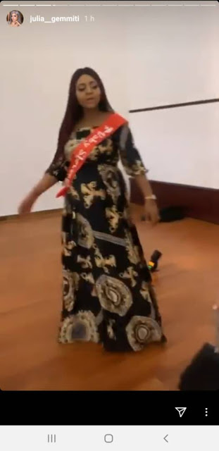 Photos and video from Regina Daniels' surprise baby shower