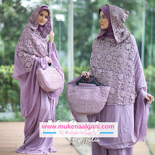 mukena%2Bprada%2Bcapuc0n3 Koleksi Mukena Al Ghani Terbaru Original