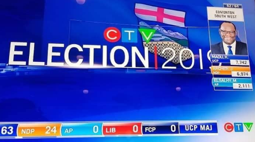 Nigerian Man Makes History In Canada, Wins Election