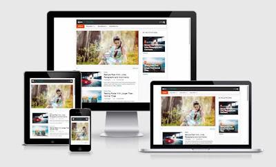 TdbMeo Blogspot responsive Template