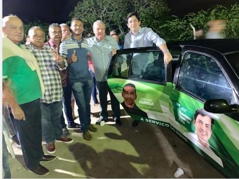 Henrique Queiroz Filho realiza doação de carro para a saúde dos moradores de Santa Maria do Cambucá