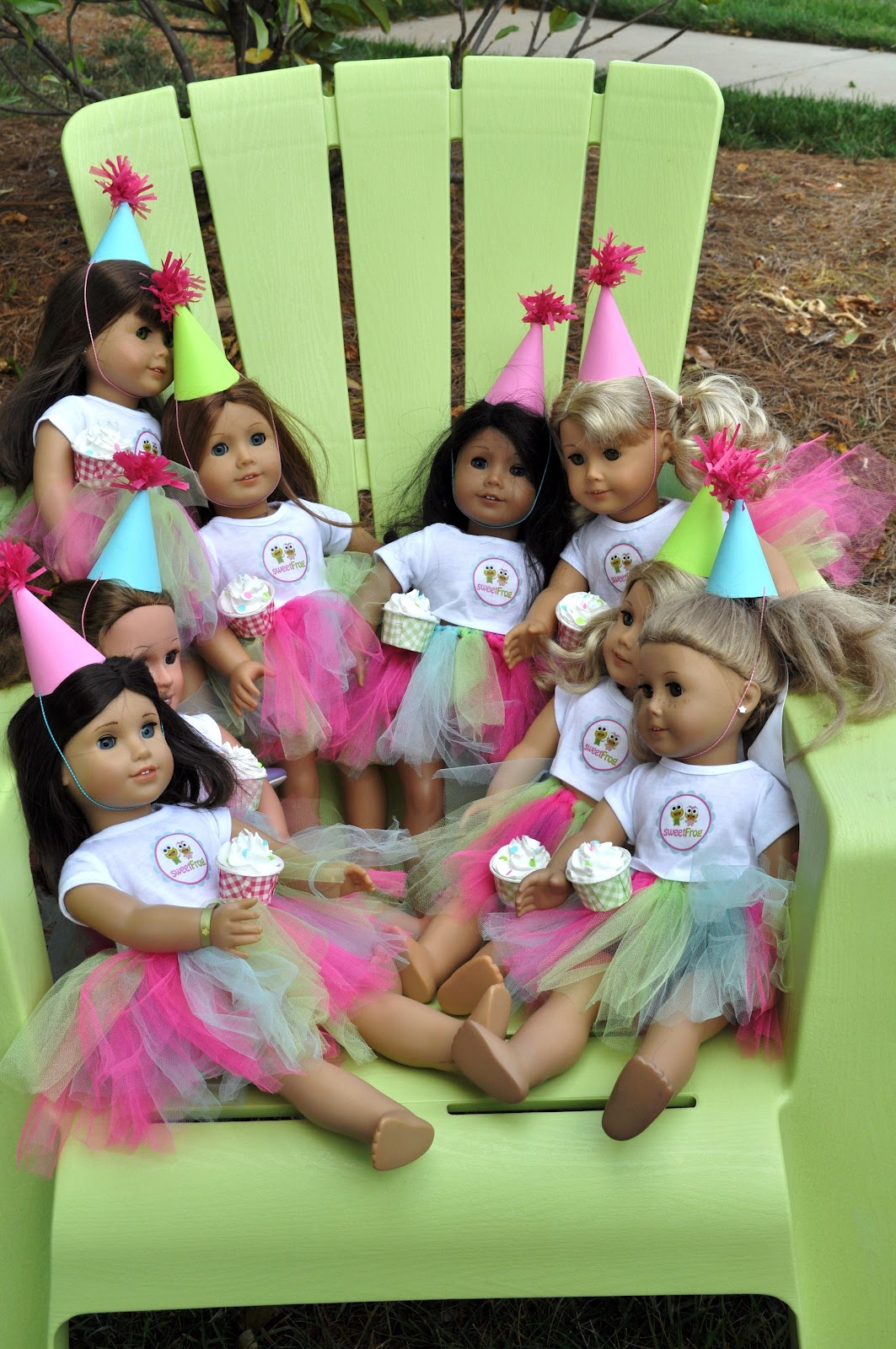 Meghily's: American Girl Party @ Sweet Frog