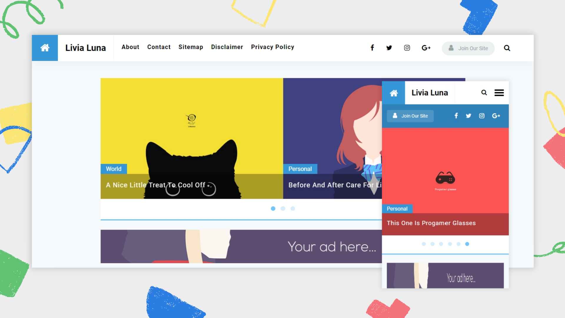 livia-luna-premium-blogger-template