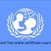 دورات مجانية من اليونيسيف بشهادات مجانية:فرص عظيمة للتعلم على يد متخصصين ومحترفين.