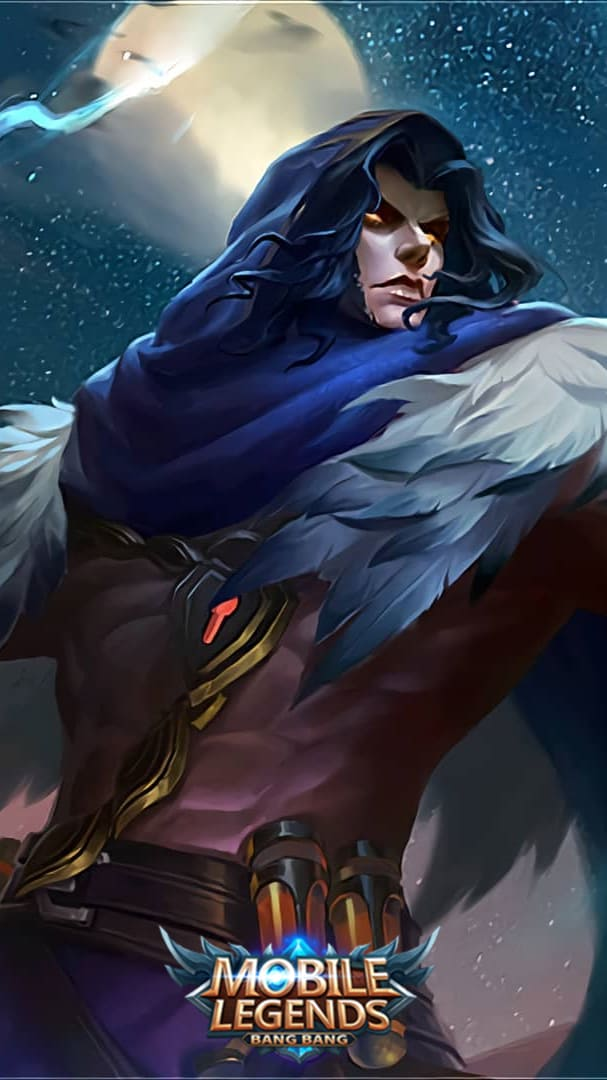 Wallpaper Faramis Dark Necro Skin Mobile Legends HD for Android and iOS