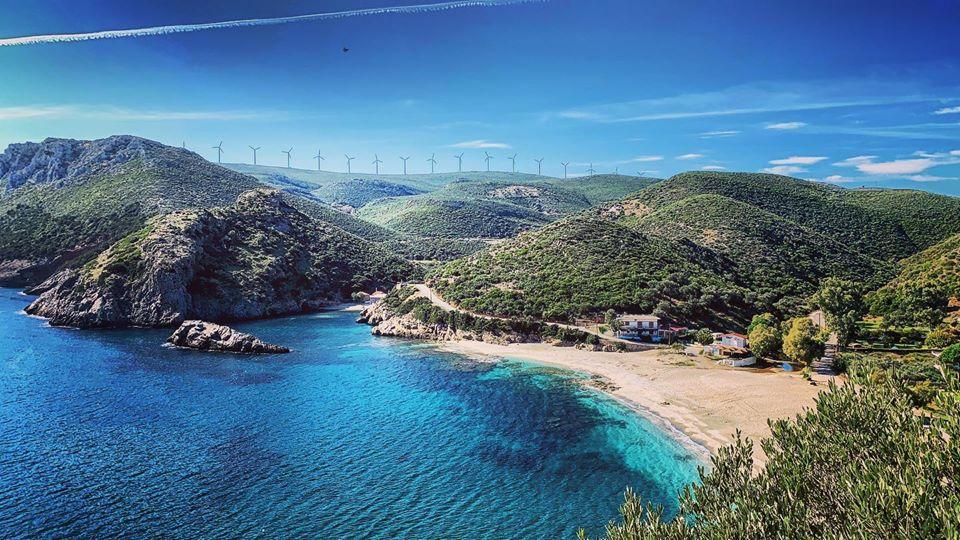 Παραλίες Εύβοιας: Η παραλία Λιμνιώνας (πηγή φωτογραφίας: adventure evia/ facebook.com)