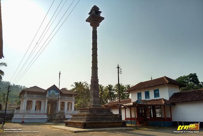 Great Manasthambha of Hiriyangadi in Karkala, Udupi district, Karnataka, India