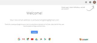 Cara mendaftar akun Gmail